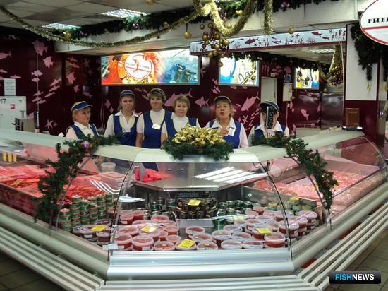Магазин «Рыбный островок», Владивосток