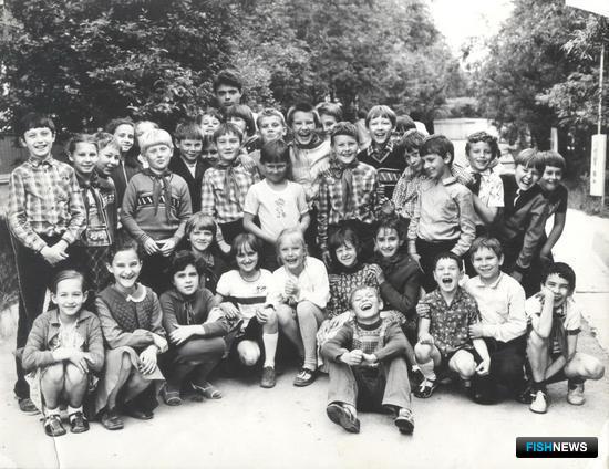 Пионерский лагерь «Нептун» управления «Дальморепродукт». 1980-е гг.