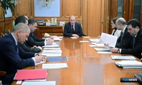 Премьер потребовал ответственного подхода к реализации ФЦП. Фото пресс-службы Правительства РФ.