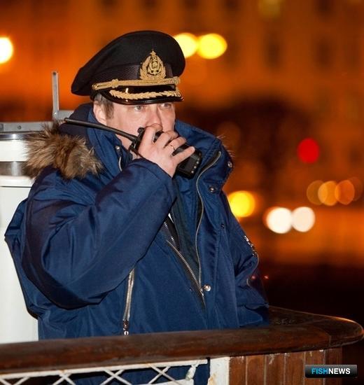 Капитан барка «Седов» Максим Родионов. Фото пресс-центра МГТУ.