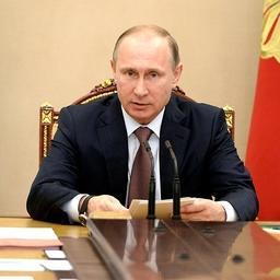 Президент Владимир ПУТИН на расширенном заседании Совбеза. Фото пресс-службы Кремля