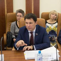 Член СФ от Карелии Игорь ЗУБАРЕВ. Фото пресс-службы Совета Федерации