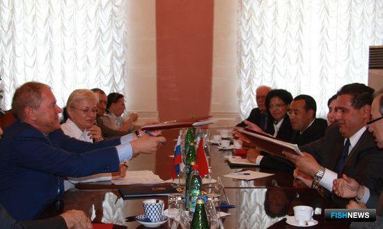 Подписание межправительственного соглашения между Россией и Марокко в области морского рыболовства