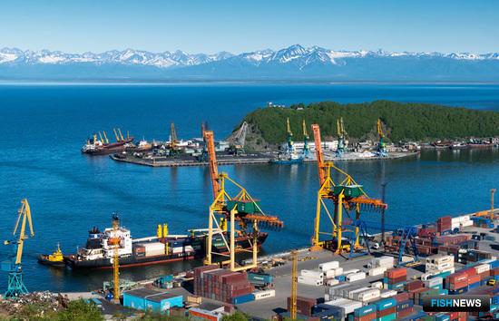 Порт Петропавловска-Камчатского. Фото пресс-службы правительства Камчастского края