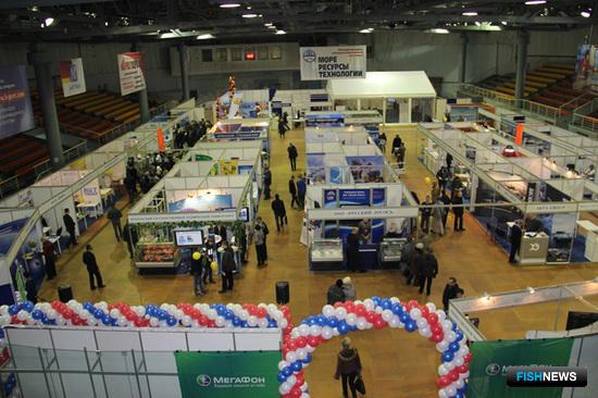 Юбилейная XV международная рыбопромышленная выставка «Море. Ресурсы. Технологии - 2014» проходила в Мурманске с 19 по 21 марта