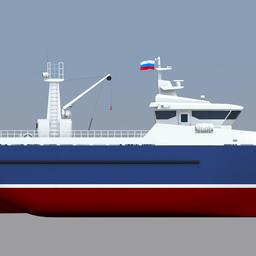 Конструкторским бюро завода «Вымпел» разработаны проекты малых рыболовных траулеров для прибрежного рыболовства. Проект МРТР-30