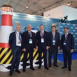 «Нацрыбресурс» представил свои возможности на выставке рыбной индустрии в Санкт-Петербурге. Фото пресс-службы учреждения