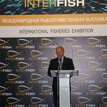 Руководитель Росрыболовства Андрей КРАЙНИЙ на открытии выставки InterFISH