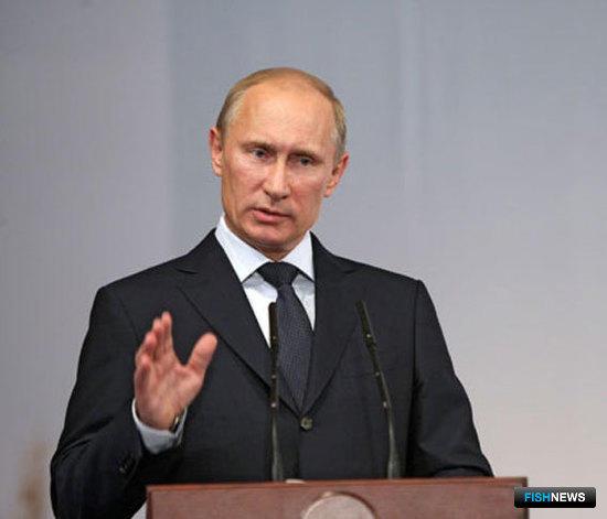 Владимир ПУТИН на  V съезде Общероссийской общественной организации «Российское аграрное движение»