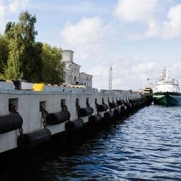 Причал в порту Пионерский. Фото пресс-службы ФГУП «Нацрыбресурс»
