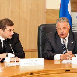 Владислав СУРКОВ и Виктор ИШАЕВ