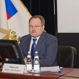 Первый заместитель министра сельского хозяйства Игорь МАНЫЛОВ на коллегии Росрыболовства
