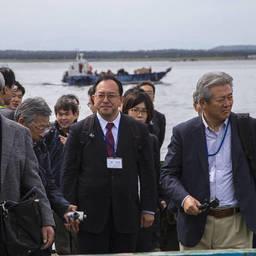 Японский бизнес-десант приступил к осмотру. Фото пресс-службы правительства Сахалинской области