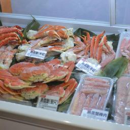 Морепродукты на выставке в Циндао