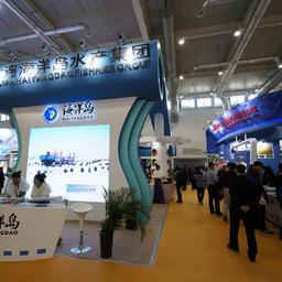 Выставка морепродуктов и аквакультуры China Fisheries & Seafood Expo проходит в 13-й раз