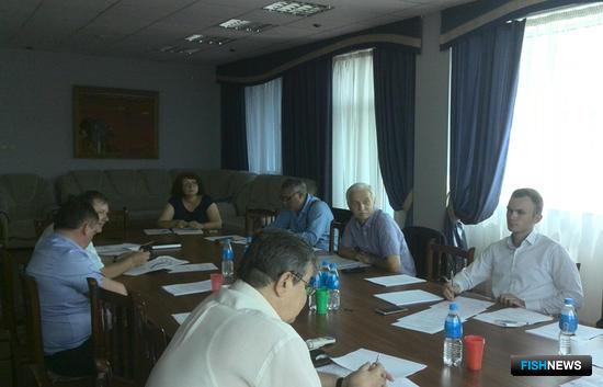 Заседание Общественного экспертного совета Приморского края по рыбному хозяйству