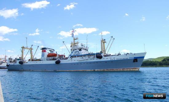 БМТР «Бухта Преображения» компании «Преображенская база тралового флота»