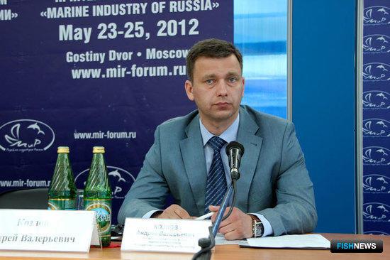Начальник управления флота, портов и мониторинга Росрыболовства Андрей КОЗЛОВ