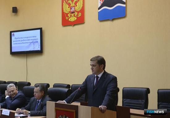 Руководитель Росрыболовства высказался по теме административных барьеров. Фото Виктора Гуменюка.