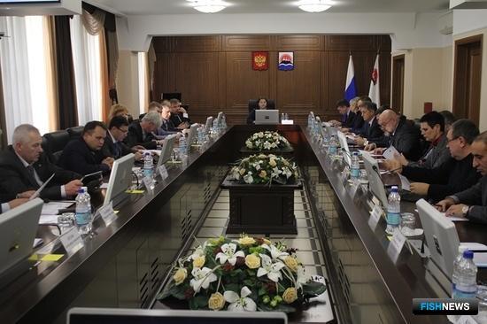 Участники заседания Инвестиционного совета в Камчатском крае рассмотрели наиболее острые проблемы, возникающие у предпринимателей. Фото пресс-службы правительства региона