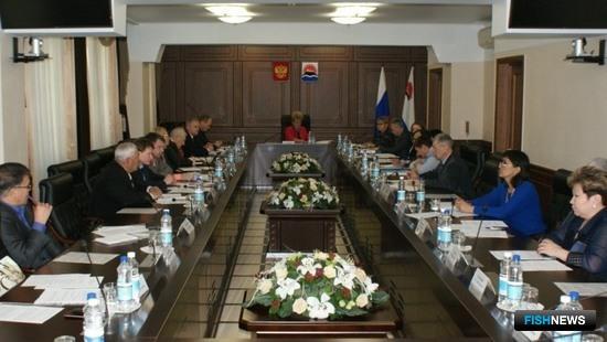 Заседание Совета по вопросам коренных малочисленных народов Севера. Фото пресс-службы правительства Камчатского края