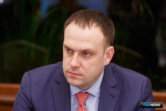Директор ООО «Диомидовский рыбный порт» Павел НИКОЛАЕВ