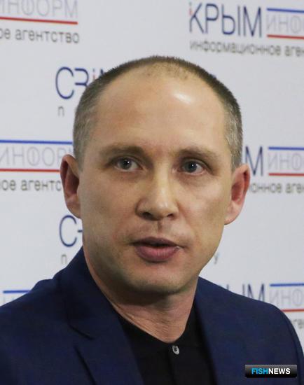 Председатель государственного комитета по рыболовству Республики Крым Андрей ДЕДЮХИН