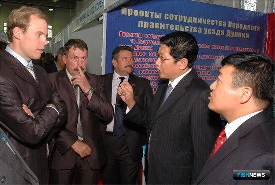 Во Владивостоке открылась международная рыбохозяйственная выставка