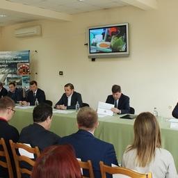 Руководитель Росрыболовства Илья ШЕСТАКОВ провел совещание по вопросам рыболовства и воспроизводства водных биоресурсов в Краснодарском крае. Фото пресс-службы ФАР