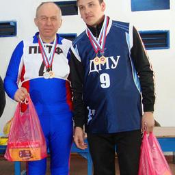 Золотые призеры в личном зачете: Владимир КУЗОВЛЕВ (ОАО «ПБТФ») и Александр АНТОШКИН (ДМУ)