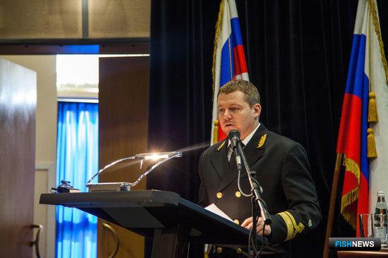 Директор Сахалинского научно-исследовательского института рыбного хозяйства и океанографии Александр БУСЛОВ