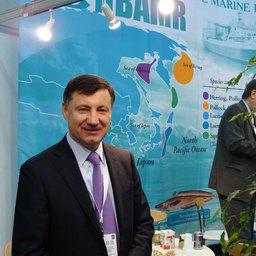 The European Seafood Exposition, Брюссель, май 2011 г.  Петр САВЧУК (НБАМР)