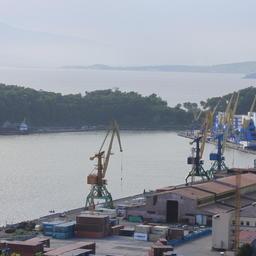 Порт на Камчатке