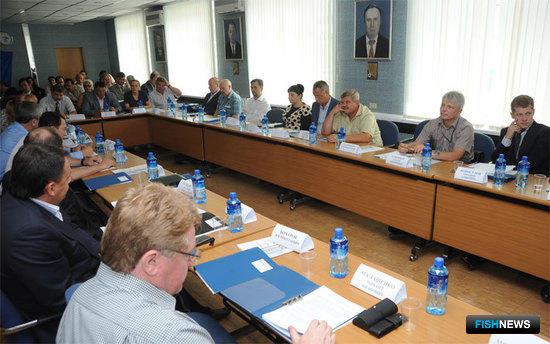 ОБщее собрание Ассоциации добытчиков минтая во Владивостоке