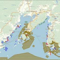 Интерактивная карта участков для марикультуры в Приморском крае. Фото пресс-службы Росрыболовства