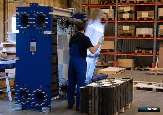 В Королеве развернуто производство полного цикла для изготовления разборных пластинчатых теплообменников Alfa Laval