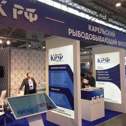«Карельский рыболовный флот» представили на Выставке рыбной индустрии, морепродуктов и технологий в Санкт-Петербурге