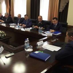 Заседание расширенного штаба лососевой путины. Фото пресс-службы правительства Камчатского края