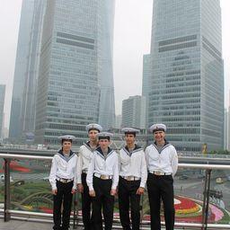 Парусник Росрыболовства «Паллада» с 12 по 16 мая побывал в Шанхае. Фото пресс-службы Дальрыбвтуза