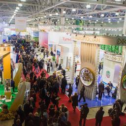 В Москве открылась 17-я ежегодная агропромышленная выставка «Золотая осень»