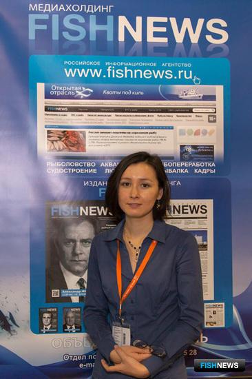 Шеф-редактор медиахолдинга Fishnews Анна ЛИМ