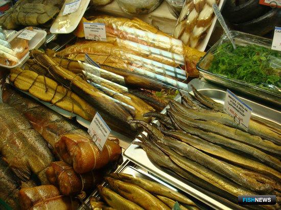Росрыболовство намерено развивать специализированные рыбные магазины