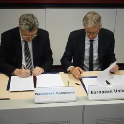 В начале июля в Брюсселе состоялась десятая, юбилейная, сессия Смешанной комиссии по рыболовству в Балтийском море. Фото пресс-службы АтлантНИРО