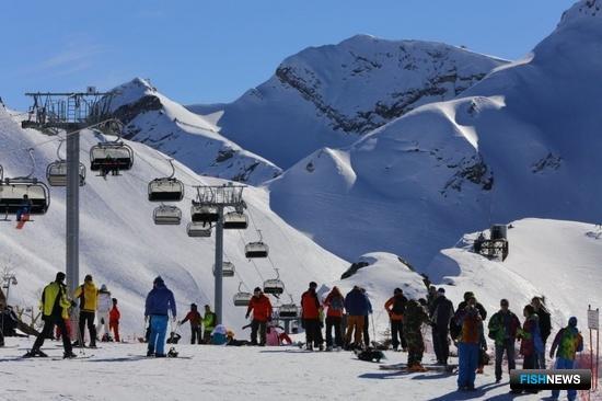 Самые прилежные курсанты поднялись на одну из гор Красной поляны. Фото пресс-службы БГАРФ.