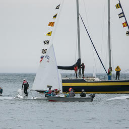 Праздник открытия парусного сезона в Невельске. Фото пресс-службы фонда «Родные острова»