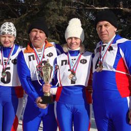 Серебряный кубок «Рыбацкой лыжни-2013» у преображенцев