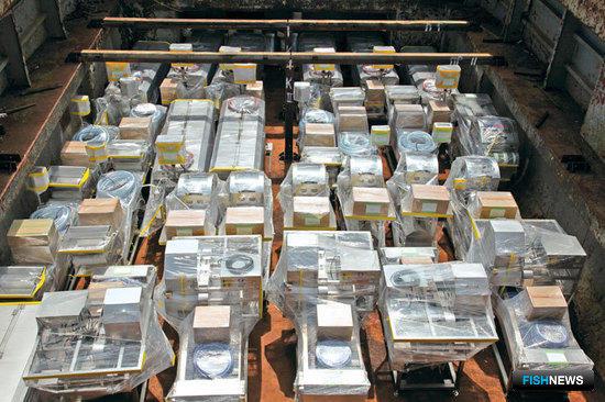 Весна 2011: Очередная партия оборудования Nikko отправляется на российские предприятия