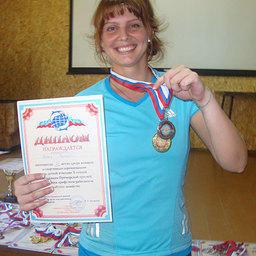 Спортсменка ТИНРО-Центра Софья ПАНЦЫРЕВА – чемпион спартакиады в командном зачете по легкой атлетике и бронзовый призер в личном зачете среди женщин