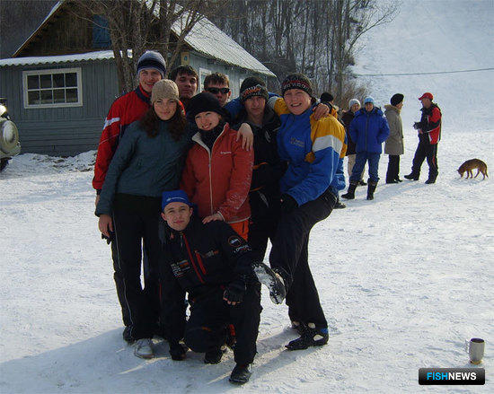 Команда Дальрыбвтуза