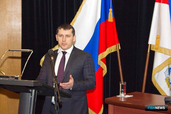 Андрей КОВАЛЕНКО на заседании коллегии Росрыболовства